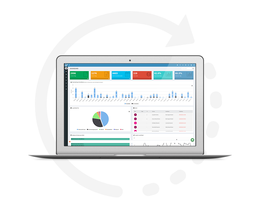 eflow automotive crm dashboard